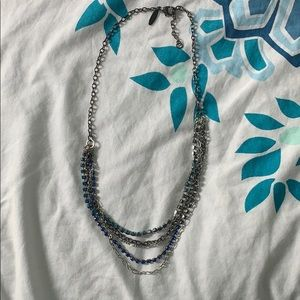 Blue Layer Necklace